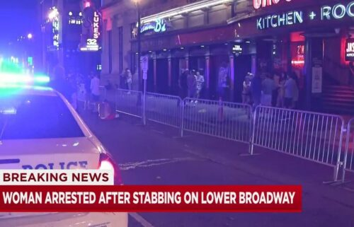 A man is recovering in the hospital after he was stabbed multiple times outside a bar on Lower Broadway early Tuesday morning.
