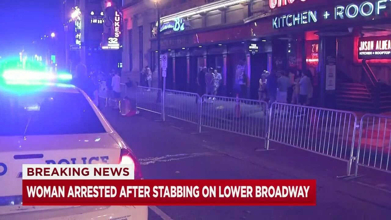 <i>WSMV</i><br/>A man is recovering in the hospital after he was stabbed multiple times outside a bar on Lower Broadway early Tuesday morning.