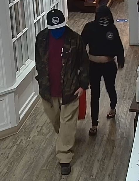 Scotts Valley Mail Thieves