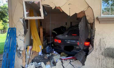 Salinas PD: Car with child inside crashes into apartment, driver arrested for DUI