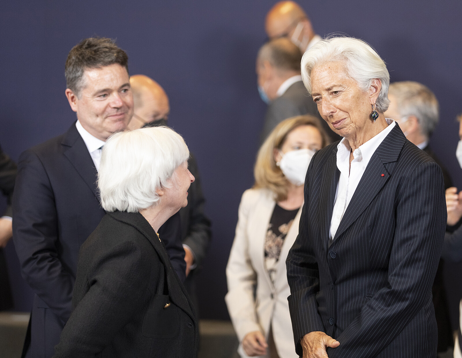 <i>Thierry Monasse/Getty Images</i><br/>President of the European Central Bank Christine Lagarde will host a press conference on July 22.