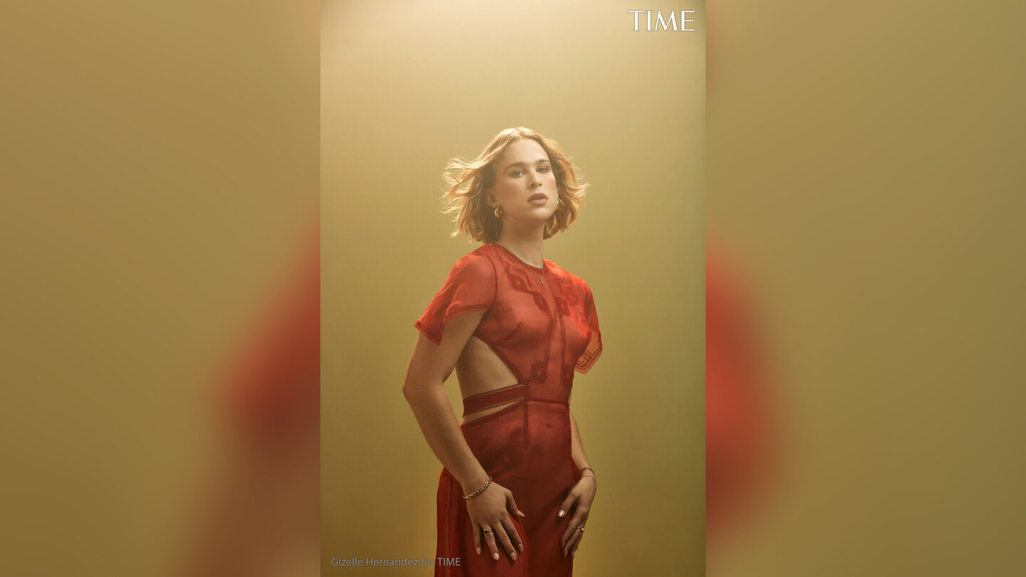 <i>Gizelle Hernandez for TIME</i><br/>Tommy Dorfman spoke to Time about her idenity as a trans woman.