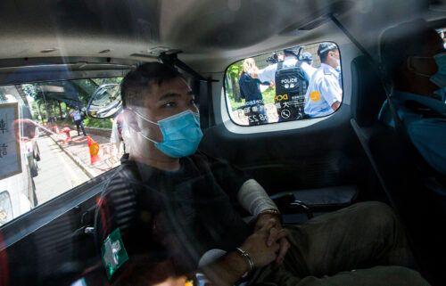 Hong Kong defendant Tong Ying-Kit