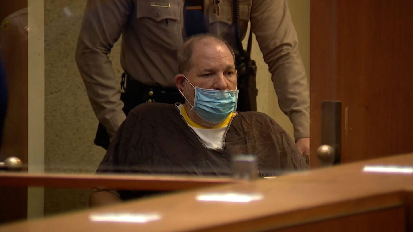 <i>Pool</i><br/>Harvey Weinstein pleaded not guilty to 11 charges in a Los Angeles courtroom on July 21.