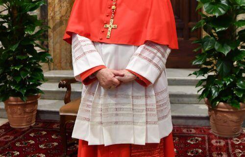 A file photo of Cardinal Angelo Becciu