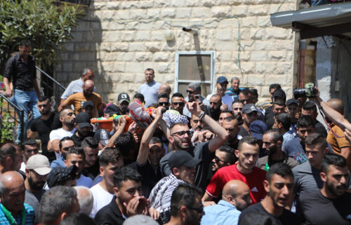 A Palestinian man has died after being shot by Israeli forces in the West Bank