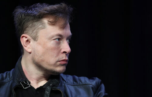 Shares of Tesla were down 3% in early afternoon trading July 27