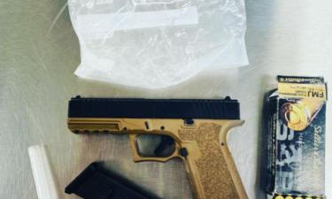 Salinas police seize meth, ghost gun on Garner Avenue