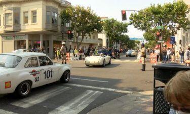 Monterey Car Week kicks off in downtown Monterey Friday