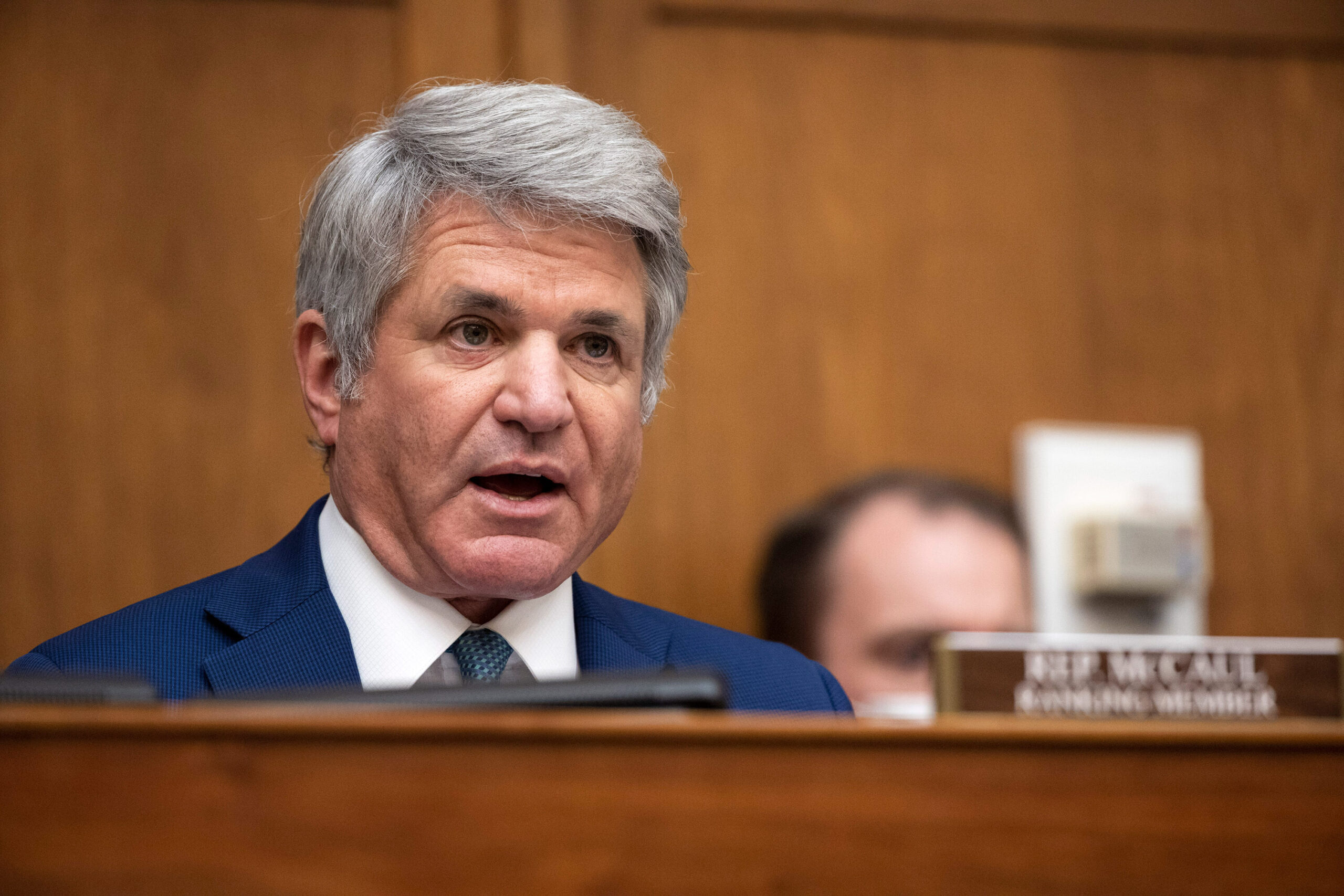 <i>Ting Shen/Pool/Getty Images</i><br/>Ranking Member Rep. Michael McCaul (R-TX) slammed the Biden administration over the rapidly deteriorating situation in Afghanistan.