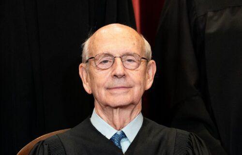 Associate Justice Stephen Breyer on April 23