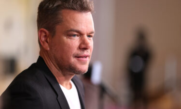 """Matt Damon credits his daughter for ending his use of the 'f-slur.' Damon here attends the """"Stillwater"""" New York Premiere on July 26"""