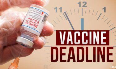 Covid-19 vaccine mandate deadline