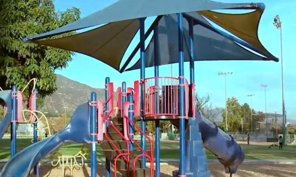 <i>KCAL/KCBS</i><br/>The Long Beach City Council is considering a proposal that would ban adults unaccompanied by children from entering park playgrounds.