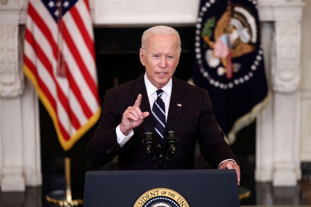 <i>Kevin Dietsch/Getty Images</i><br/>President Joe Biden