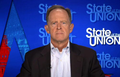 Republican Sen. Pat Toomey said that he opposes a Democratic plan to combine a temporary government funding bill with a suspension of the debt ceiling.