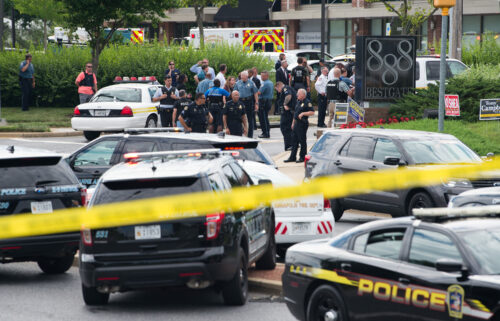A man who killed five employees of Maryland's Capital Gazette newspaper in 2018 was sentenced Tuesday to five life sentences without parole.