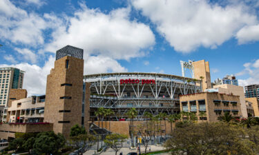 Petco Park is pictured in San Diego
