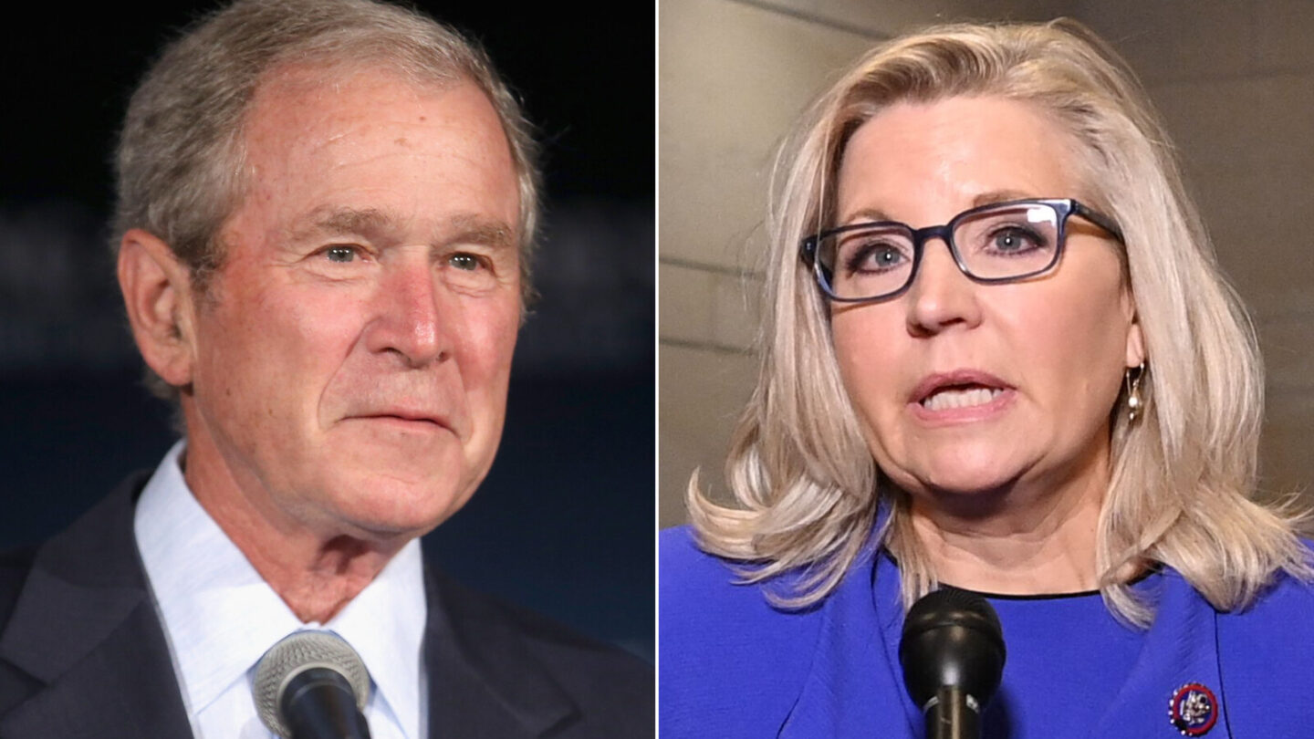 <i>Getty</i><br/>Former President George W. Bush will hold a fundraising event for Wyoming GOP Rep. Liz Cheney