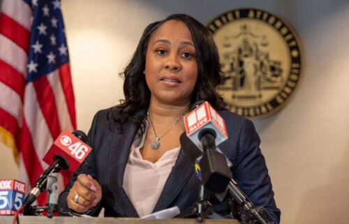 """Accused violent felons are eligible for release in Georgia due to backlog. Fulton County District Attorney Fani Willis says her office is dealing with """"an excess of 11"""