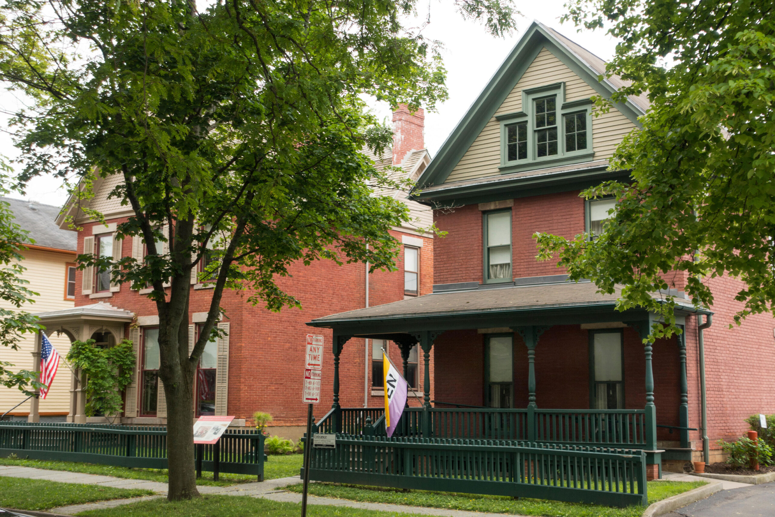 <i>Randy Duchaine/Alamy</i><br/>Susan B. Anthony Museum and House in Rochester