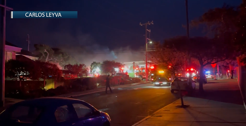 A duplex that caught fire in Monterey is now believed to have been intentionally set
