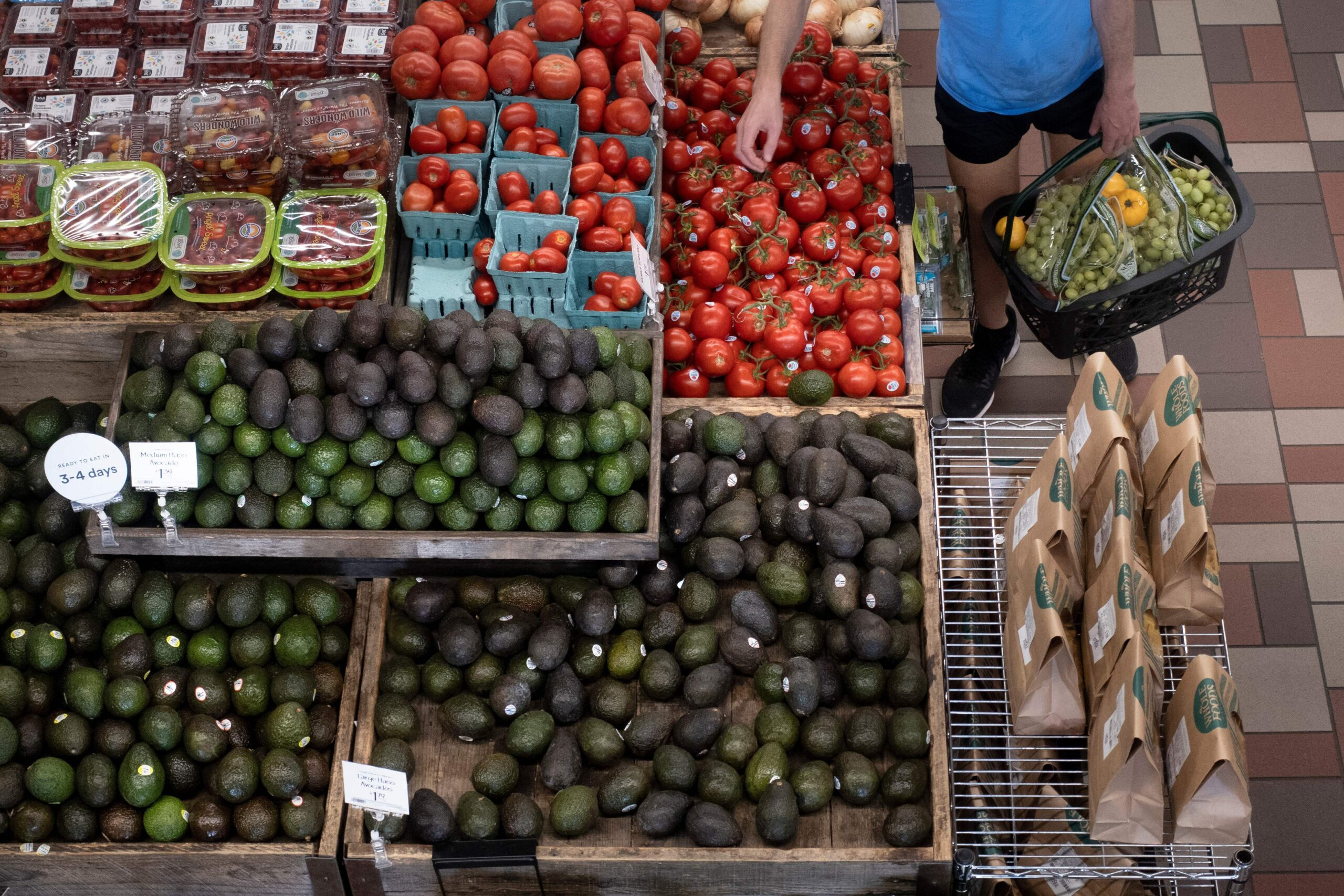 <i>Brendan Smialowski/AFP/Getty Images</i><br/>The US consumer price index rose 5.4% over the previous year in September