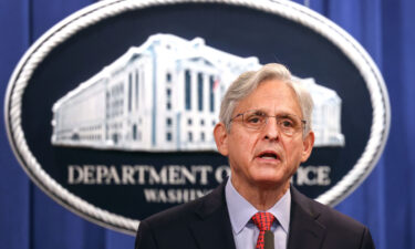 Attorney General Merrick Garland will appear before the House Judiciary Committee Thursday. Garland is shown here during a news conference at the Department of Justice on August 05