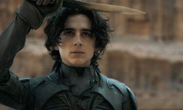 Timothée Chalamet stars in director Denis Villeneuve's adaptation of 'Dune.'