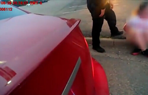 A Colorado police officer has been put on administrative leave and an internal investigation is underway after another officer reported him for yelling and cursing at a 17-year-old female during a traffic stop