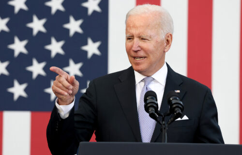 President Joe Biden is visiting New Jersey on Monday